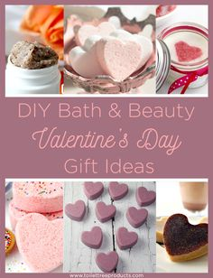 Rejuvenating natural homemade bath and beauty products for Valentine's Day. Here are 9 DIY recipes to try or gift your love along with bamboo products.