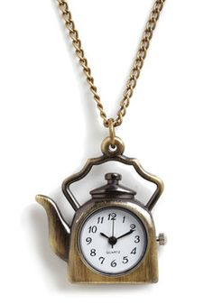 Tea O'Clock Necklace