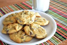 Chocolate Chip Pudding Cookies...calls for vanilla pudding, but I think I should try CHOCOLATE!!
