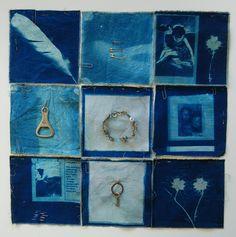 Cyanotype textiles