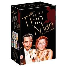 One of my absolute all time favorites! The Thin Man Series; William Powell & Myrna Loy! <3 <3 <3