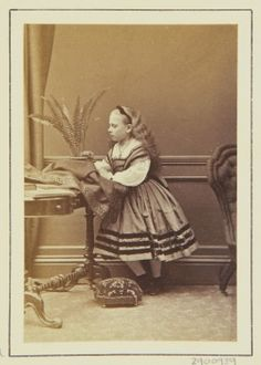 Princess Beatrice, 1864 [in Portraits of Royal Children Vol.7 1863-1864]