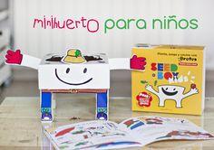 mini huerto urbano para niños