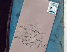 brown-bag-black-calligraphy-invitation