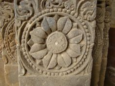 stone carved flower - Google Search