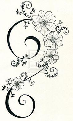 Best Snap Shots dibujos para bordar Embroidery Designs Tips Tattoo-Design 3 von … auf Hand Embroidery Patterns, Ribbon Embroidery, Embroidery Stitches, Machine Embroidery, Embroidery Tattoo, Tattoo Patterns, Wood Burning Patterns, Fabric Painting, Doodle Art