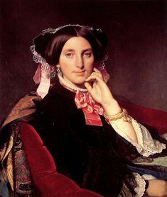 Portrait de Madame Gonse - 1852 - Jean Auguste Dominique Ingres
