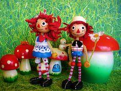 Cute dolls by judibird