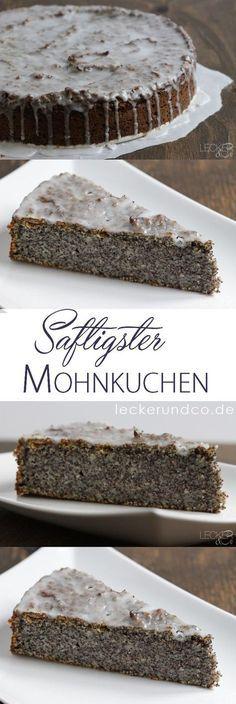 Saftigster Mohnkuchen überhaupt Notiz: anstatt mit Milch und Butter mit Haferdrink und Asan versuchen