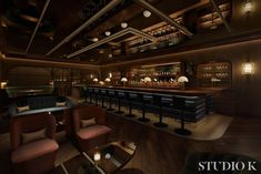 Bugsy & Meyer's Steakhouse opens with a speakeasy entrance in early 2020 at the Flamingo - Eater Vegas Seafood Tower, Seafood Restaurant, Strawberries Romanoff, Dry Aged Steak, Bone In Ribeye, Hotel Pennsylvania, Speakeasy Bar, Las Vegas Restaurants, Raw Bars