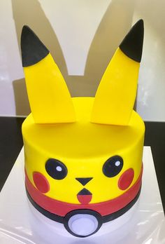 Pikachu taart, november 2016