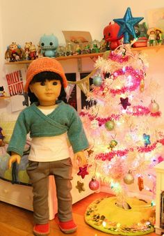 Doll Diaries Picks for the Week Ending December 14 Super Inky Christmas tree