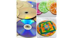 Manualidades para el hogar: recicla cds y dvds y crea divertidos posavasos