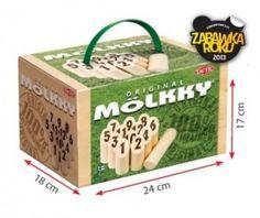 Tactic - Mölkky w kartonowym pudełku. Czas na zabawę na świeżym powietrzu z całą rodziną. #Lato #Wypoczynek #Zabawa