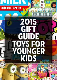 You can complete all your holiday shopping just by perusing our various gift guides! These gift ideas and toys for younger kids should help you check a few things off your list! - SahmReviews.com