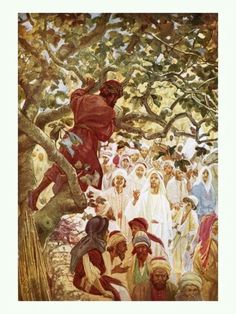 zacchaeus in the bible kjv