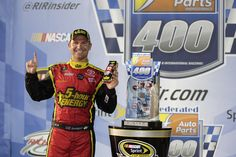 Clint Bowyer and the No. 15 5-Hour Energy Toyota held on for a win at Richmond after an early spin, rain and a possible fuel mileage issue threatened their night. Bowyer's Raced Win die-cast is now available for order at www.lionelnascar.com, your Lionel-authorized die-cast dealer and the NASCAR Superstore.