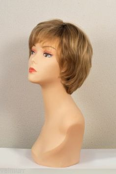 Full Lace European Virgin Or European Remy Short Human Hair Wigs with Layers