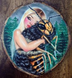 Image of 'The Bees Knees' Original Art