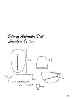 iiven ihmetykset: Disney Animator Doll - Sneakers