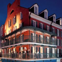 Destination weddings in the historic French Quarter area of New Orleans. Great ideas for bachelor/bachelorette parties too themarriedapp.com hearted <3