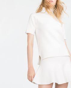 SKATER SKIRT - View all - Knitwear - WOMAN | ZARA United States