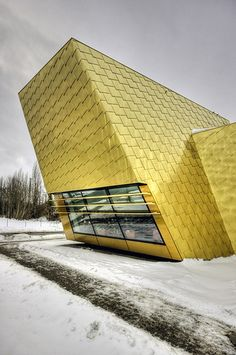 Luckenwalde Town Library by Wojtek Gurak, via Flickr