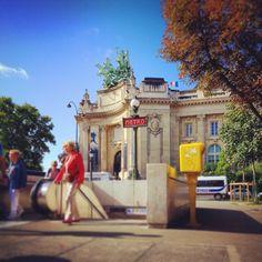 Metrostation Paris