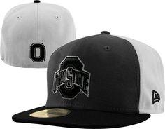 Ohio State Buckeyes New Era Graphite Black 59Fifty Fitted Hat | eBay