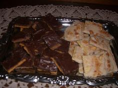Chocolate Crack - from Joanne Fluke's 'Apple Turnover Mystery' (also includes recipe for Vanilla Crack)
