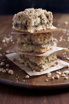 Crumb cake banane cannelle