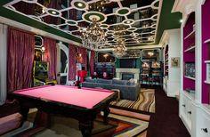 casa-por-dentro-cortinas-mesa-de-billar-rosa-videojuegos-y-lamparas.jpg (660×433)
