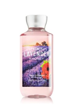 French Lavender & Honey  I love the smell of this shower gel from bath and body works. It nice to use after a long of day