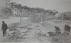 Illegal Chinese Aliens Crossing Underneath the Fence from Mexico Into Nogales, Arizona In the 1920's by The Nite Tripper, via Flickr
