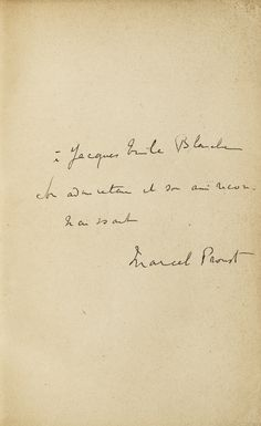 proust, marcel la bibl | modern first editions | sotheby's