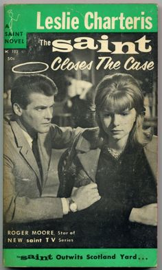 Not Pulp Covers • Roger Moore is… The Saint
