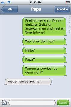Was zum …? Dies passiert, wenn Eltern zum ersten Mal ein Smartphone benutzen. Ich musste losprusten.