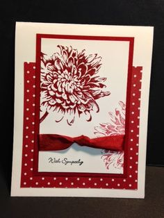 Blooming with Kindness, Sympathy Card, Stampin' Up!, Rubber Stamping, Handmade Cards