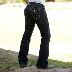 Cowgirl Tuff Women's Queen of Everything Boot Cut Jeans