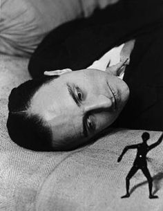 Man Ray - Portrait of Jacques Rigaut, 1922