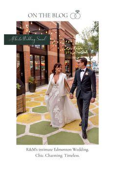 Fresh on the blog - R&M's Edmonton Wedding featuring Janelle Dudzic Photography. Wedding Trends, Real Weddings, Wedding Inspiration, Blog, Photography, Photograph, Fotografie, Blogging, Photoshoot