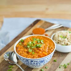 Y Coconut Curry Red Lentil Soup Recipe