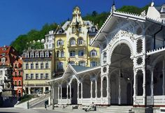 The Karlovy Vary, (formerly Karlsbad) Spa is the best known and the largest spa in the Czech Republic. It was originated in around Bari, Monuments, Prague Airport, Day Trips From Prague, Heart Of Europe, Central Europe, Albania, Macedonia, Czech Republic