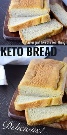 Keto Bread: A Low Carb Bread Recipe With Almond Flour Dr . 13 Keto Cookies That Will ROCK Your Low Carb World. Low Carbohydrate Diet, Low Carb Diet, Dukan Diet, Low Carb Recipes, Diet Recipes, Bread Recipes, Recipies, Banting Recipes, Lunch Recipes