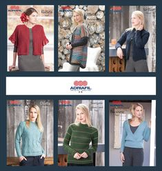 Sai che #Adriafil è anche #moda? Ecco 6 modelli esclusivi, scarica la scheda maglia da #Ravelry QUI: http://bit.ly/AdriafilRavelryPatternsStore Nella #newsletter di gennaio c'è un pattern per TE, quale ti piacerebbe?  😉 Scrivilo nei commenti e iscriviti alla nostra NL mensile: http://bit.ly/AdriafilNLITA_