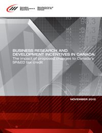 CME Publications & Reports - Canadian Manufacturers & Exporters Typical report cover