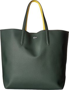 Lacoste Anna Large Shopping Bag, Sinople Sulphur Lacoste (Affiliate Link)