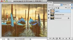 Photoshop Fun: Adding texture with blending modes