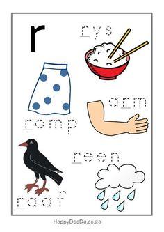Grade R Worksheets, Printable Preschool Worksheets, Preschool Learning Activities, Worksheets For Kids, Kindergarten Worksheets, Preschool Activities, Reading Worksheets, Printables, Kids Learning