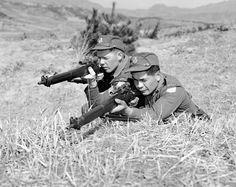 Two snipers in Korea / Deux tireurs d'élite en Corée | by BiblioArchives / LibraryArchives